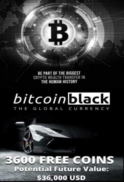 Missed out on #1 Bitcoin? Get Bitcoin Black FREE